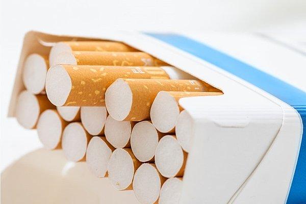 Škatlica cigaret.